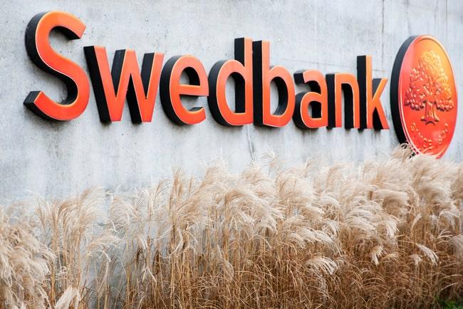 swedbanks logga på kontorshus
