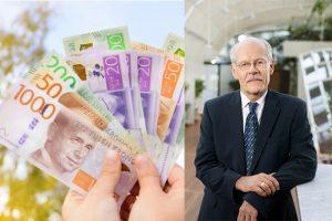 Riksbanken höjer räntan till noll